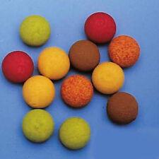 Red carp 10 unid. Soft balas foam Balls Ø 15 mm boilie pop up 's