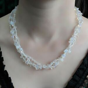 Brand new Chipstone & Bead Necklace. Chipstone & Bead Necklace -Opal