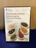 The Everyday Gourmet Rediscovering the Art of Cooking The Great Courses DVD NEW!