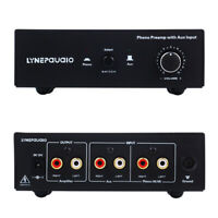 Signal Amplifier Phono Preamp Amplifier with Aux  input and Volume Control