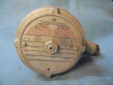 UNITED ELECTRIC PRESSURE SWITCH J120-701