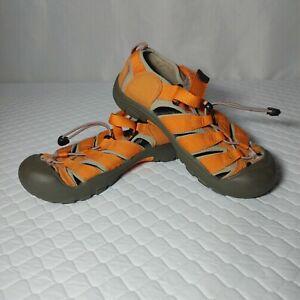 KEEN Newport H2 Waterproof Sandals Big Kids Size 5 Orange