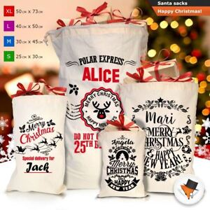 EXTRA LARGE Christmas Santa Sack Sacks Xmas Gift Presents Bag Stocking Filler