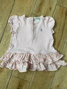 Ralph Lauren Baby Girl Dress 9-12 Months