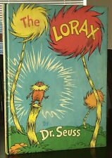 Dr Seuss 1971 The Lorax 1ST/1ST First Edition