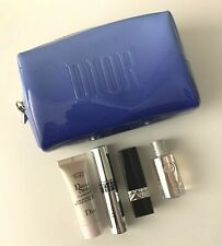 Dior makeup bag/pouch Sky Blue & lipstick & mascara & JOY 5 ml RARE SET VIP GIFT