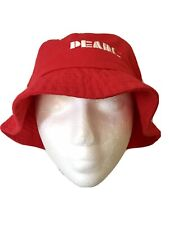 "Genuine ""Pearl Artist & Craft"" Hat Cap Red Adult New"