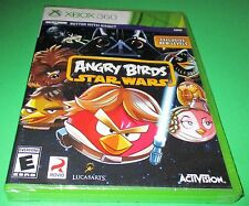 Angry Birds Star Wars Microsoft Xbox 360 *Factory Sealed! *Free Shipping!