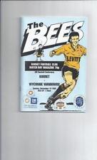 Barnet Non-League Teams A-B Football Programmes