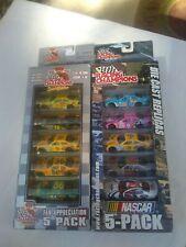 Racing Champions Nascar 5 Packs