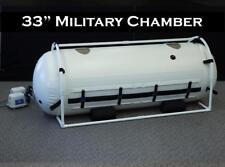 33 Inch Military Hyperbaric Oxygen Chamber Best Customer Servc PTSD BrainHealth