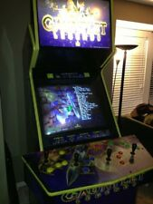1998 Atari Full Size Gauntlet Legends Four 4 Player Arcade Game + Dark legacy HD