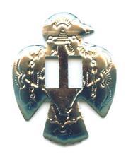 Conchos Conchas Thunderbird  Western Nieten Indianer 44 x 36 mm