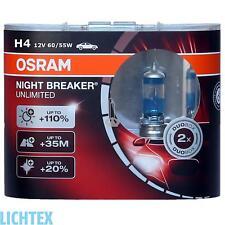 H4 OSRAM Night Breaker UNLIMITED - Scheinwerfer Lampe - DUO-Pack NEU