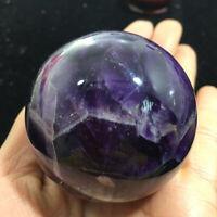 50mm Natural Dream Amethyst Sphere Purple Quartz Crystal Ball Reiki Healing Gift
