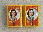 WW2 Era Coca-Cola Advertising Playing Cards - Autumn Leaves!!