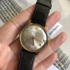 Bowman 17 Jewels Swiss Made Mechanical Mens Dress Watch