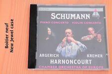 Schumann - Piano & Violon Concertos- Argerich Kremer Harnoncourt - CD Teldec
