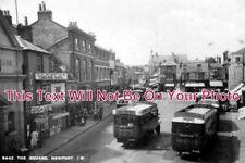 IO 244 - The Square, Newport, Isle Of Wight c1936 - 6x4 Photo