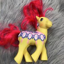 Vtg 1989 My Little Pony Merry Go Round Diamond Dreams Carousel RARE Yellow Pink