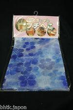 プチ兵児帯 PUCHI HEKO OBI japonais - Sakura bleu - Ceinture souple décorative