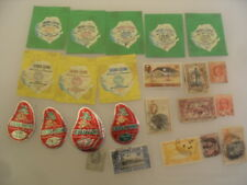 SIERRA LEONE stamps mixed lot x 25 including new worlds fair stamps.