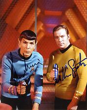 REPRINT - WILLIAM SHATNER LEONARD NIMOY 1 autographed signed photo