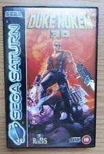 DUKE NUKEM 3D For PAL Sega Saturn Complete