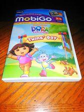Vtech Mobigo Dora The Explorer Twins' Day  3-5 Yrs. New In Original Packaging
