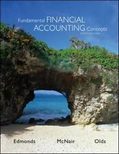 Fundamental Financial Accounting Concepts 8th Edition, Olds, Philip, McNair, Fra