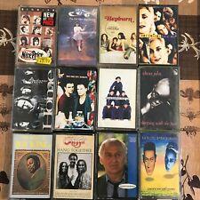 JOB LOT 25 CASSETTE ALBUMS / POP, ROCK, BLUES, SOUL / 40p each!!!