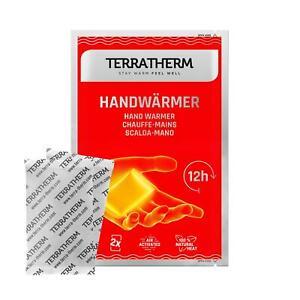 TERRATHERM® Handwärmer Taschenwärmer Wärmekissen für +12H wärme Hände - SPAR-SET