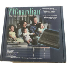 Tv Guardian The Foul Language Filter New In Box Old Stock