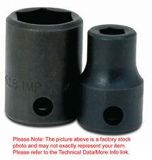 "1-5/16"" 6Point Shallow Impact Supertorque Socket 1/2"" Drive Black Industrial USA"