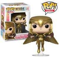 Wonder Woman Golden Armour Flying DC Wonder Woman 1984 Funko Pop Vinyl Figure