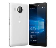 "Dual SIM Stand By-Nokia Microsoft Lumia 950XL Windows 4G 5.7"" 32GB Phone White"