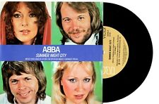 "ABBA - SUMMER NIGHT CITY - RARE 7"" 45 VINYL RECORD WRAP SLV 1978"