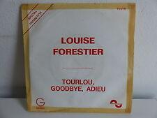LOUISE FORESTIER Tourlou goddbye adieu 10018 PROMO