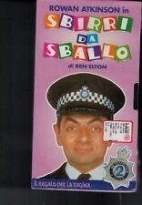 VHS=ROWAN ATKINSON in SBIRRI DA SBALLO=DI BEN ELTON=IL REGALO PER LA REGINA=N°2