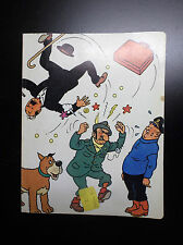 RARISSIME ancien cahier Tintin Le lac aux requins