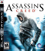 Assassin's Creed Sony PlayStation 3 PS3 Game With Manual Tested