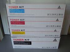 4 PACK - DELL TONER CARTRIDGES 1250C 1350C 1355CN 1350CNW HIGH CAPACITY