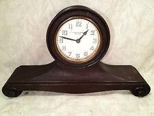 Antique Mahogany Mantel Clock for James R. Armiger Co. Baltimore Runs?