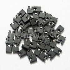 Sales 100Pcs Mini Micro Header 2.54mm Circuit Board Shunts Short Jumper Cap H