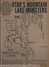 Mormon Utah Lake Monsters +Budge,Codman,Davis,Fox,Johnson,McNeil,Rich,Robinson