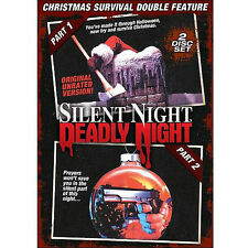Silent Night, Deadly Night/Silent Night, Deadly Night Part 2 (DVD, 2012, 2-Disc
