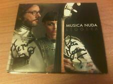 CD MUSICA NUDA LEGGERA COPIA AUTOGRAFATA PETRA MAGONI FERRUCCIO SPINETTI