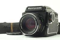 [EXC5] MAMIYA M645 + Waist Level Finder + SEKOR C 80mm f/2.8 From JAPAN