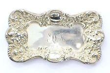 Antique Unger Bros Sterling Silver Cherub Angel Tray