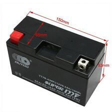 YT7B-4-BS AGM Motorcycle Battery For Yamaha Zuma 125 TTR250 YFZ 450 ATV